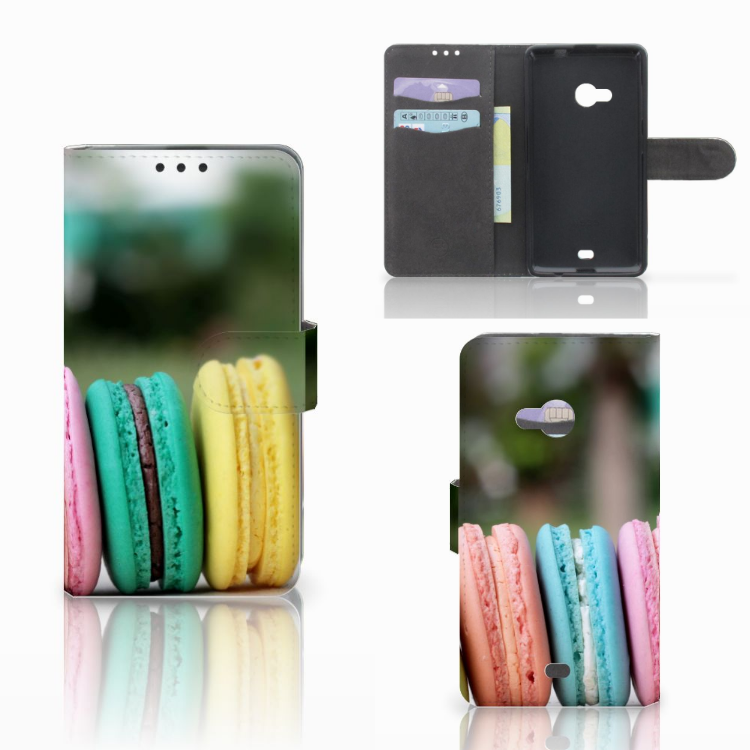 Microsoft Lumia 535 Book Cover Macarons