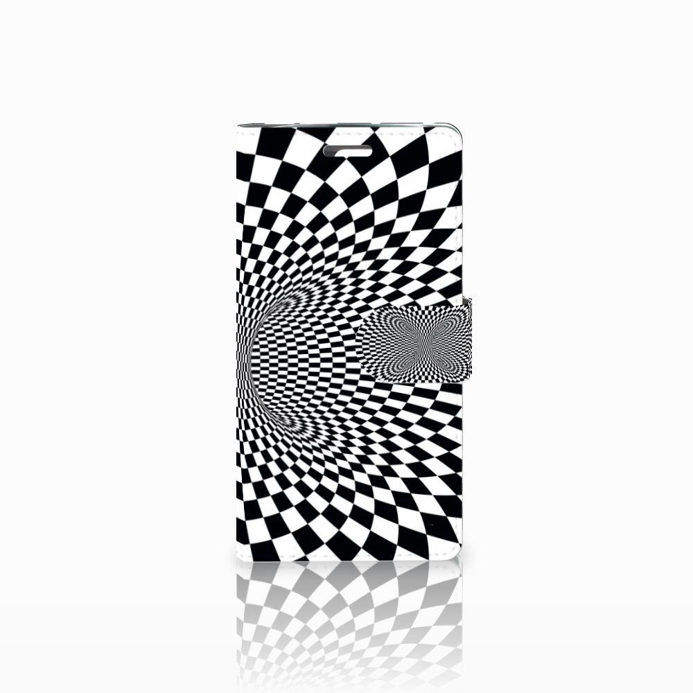 LG K10 2015 Bookcase Illusie