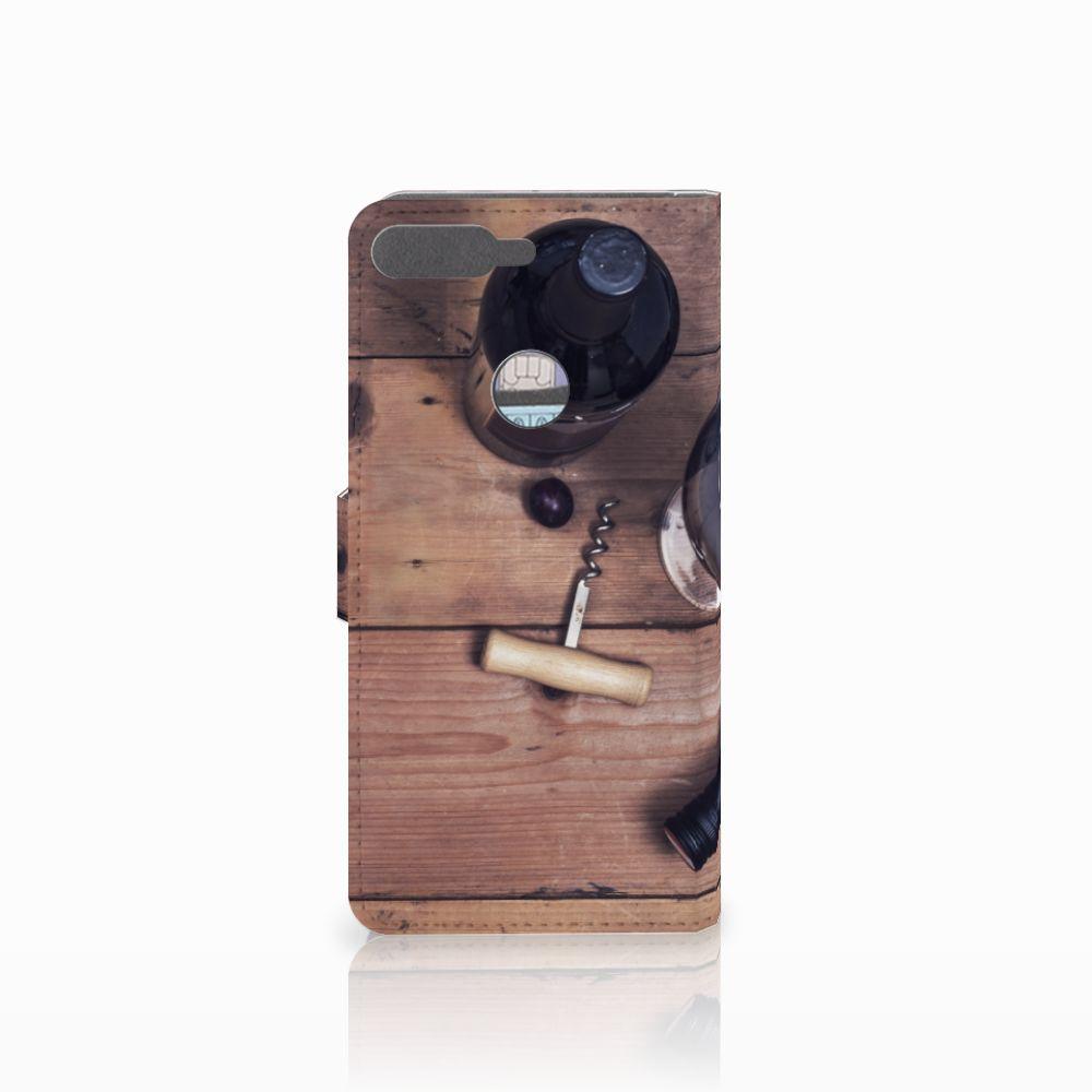 Huawei Y7 2018 Book Cover Wijn