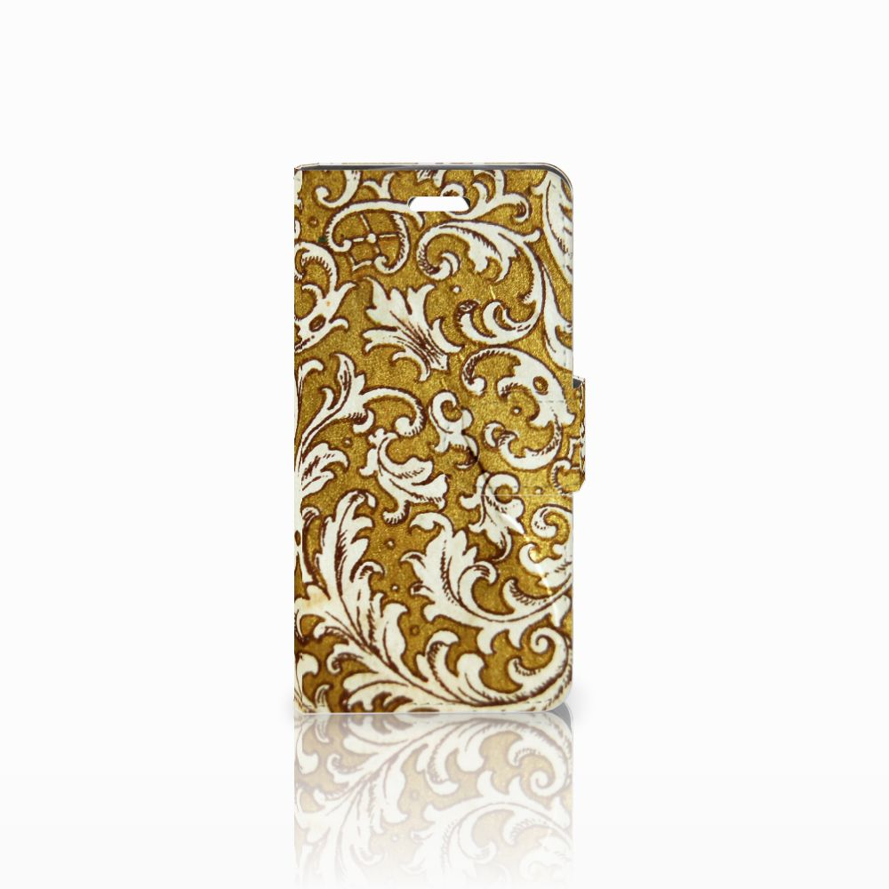 Wallet Case Acer Liquid Z330 Barok Goud