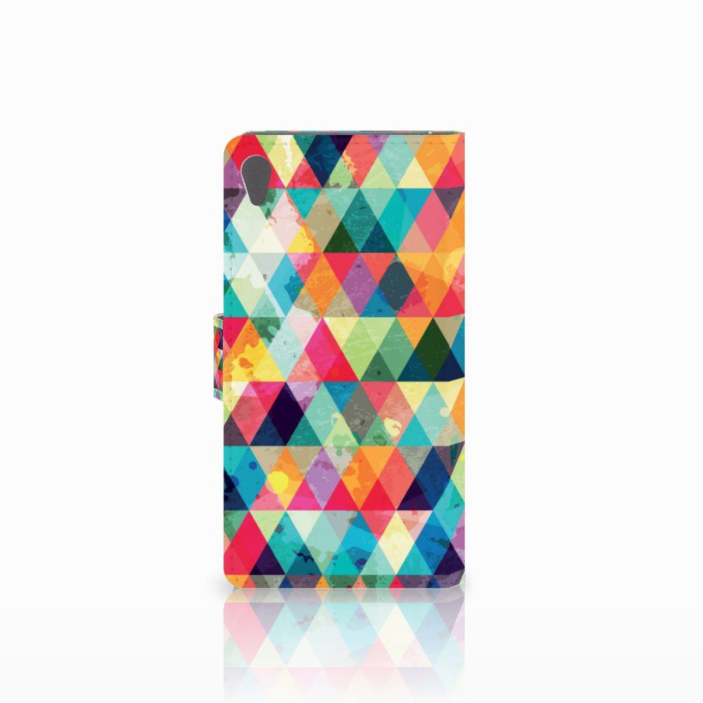 Sony Xperia E5 Telefoon Hoesje Geruit