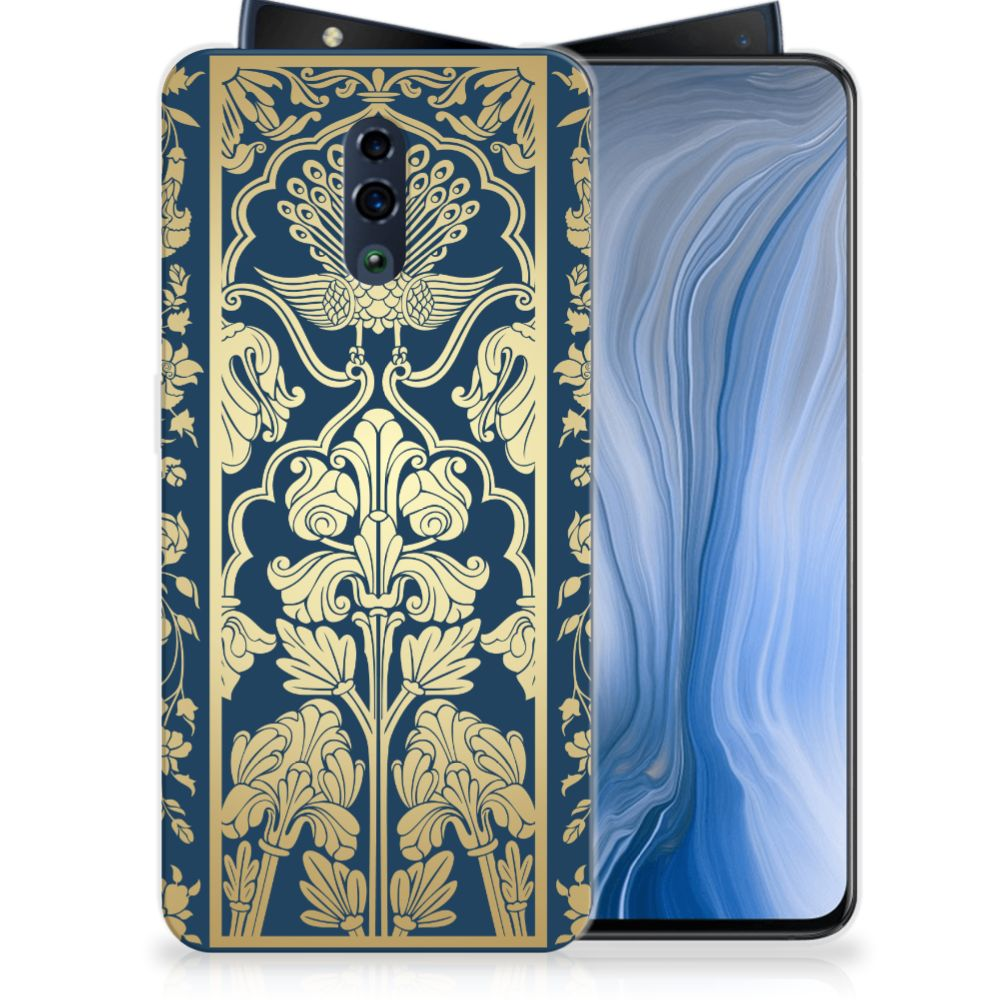 OPPO Reno TPU Case Golden Flowers