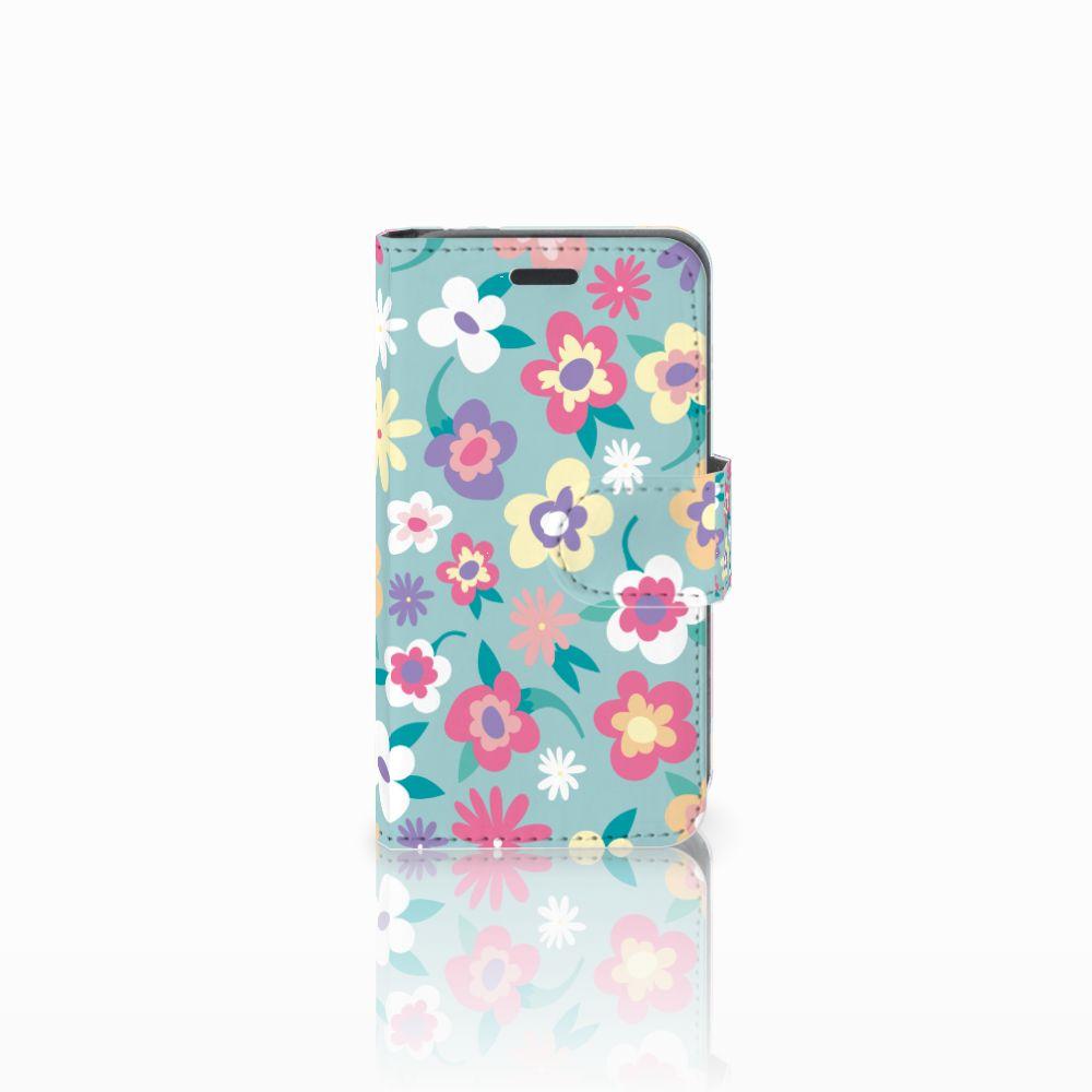 Nokia Lumia 520 Boekhoesje Design Flower Power