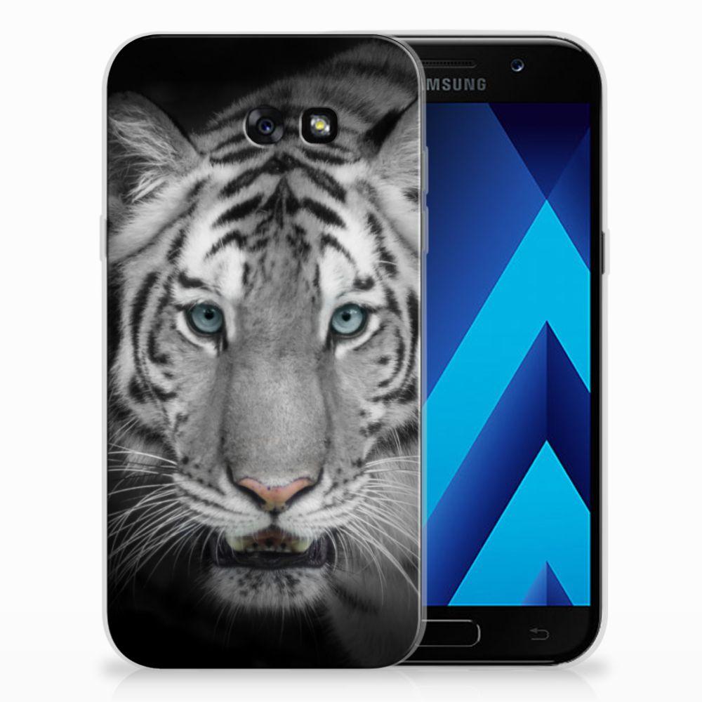 Samsung Galaxy A7 2017 Uniek TPU Hoesje Tijger