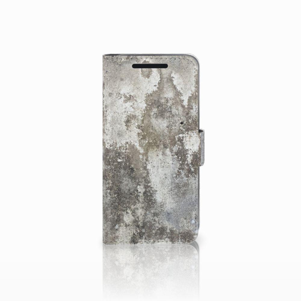 HTC One M9 Bookcase Beton Print