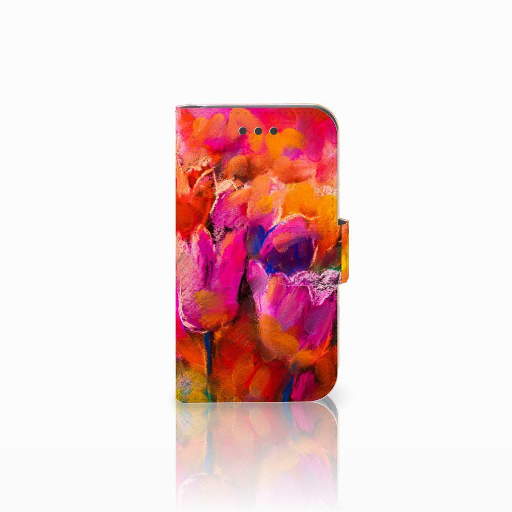Samsung Galaxy Core 2 Boekhoesje Design Tulips