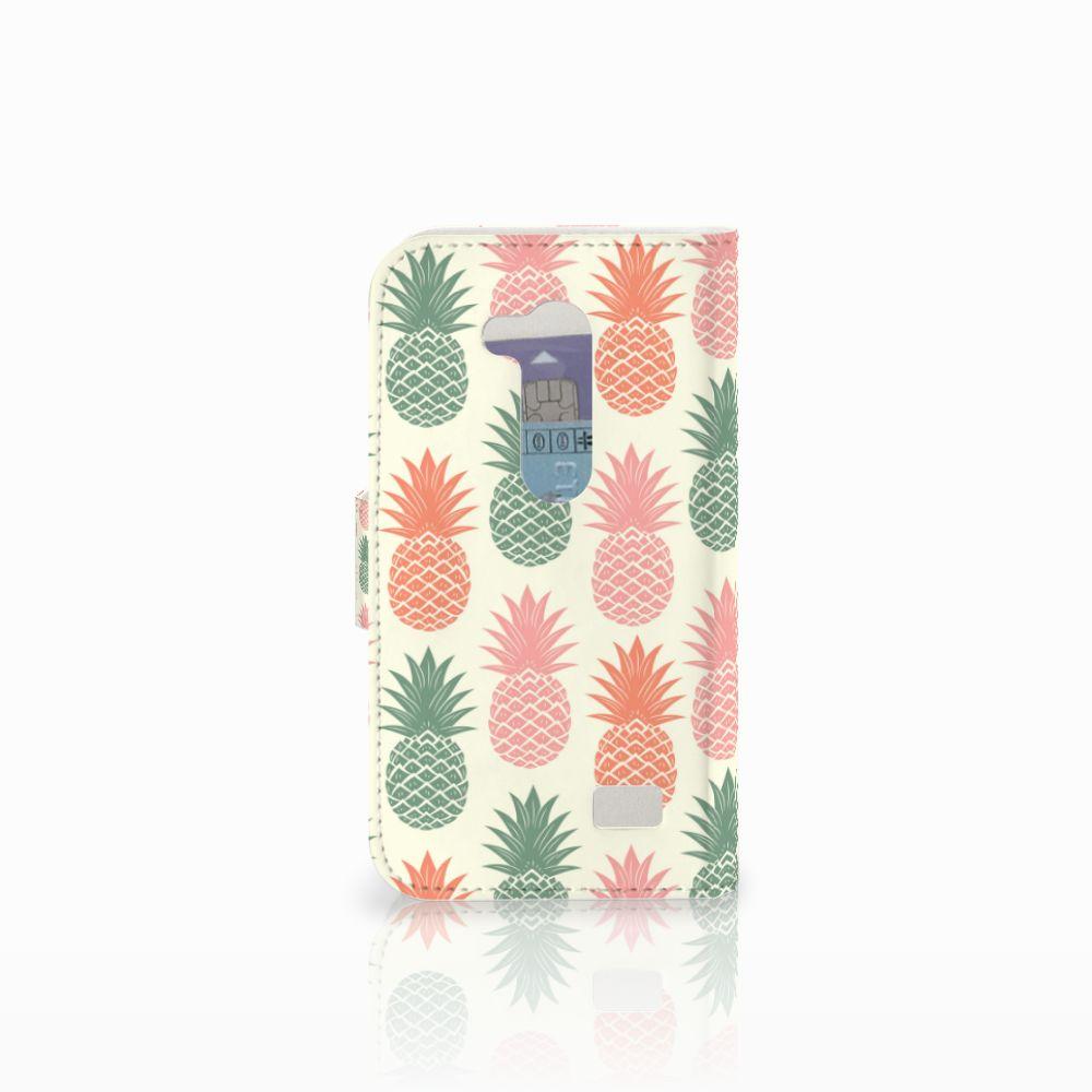 LG L Fino Book Cover Ananas