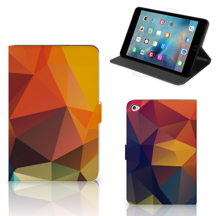 Apple iPad Mini 5 Tablet Beschermhoes Polygon Color