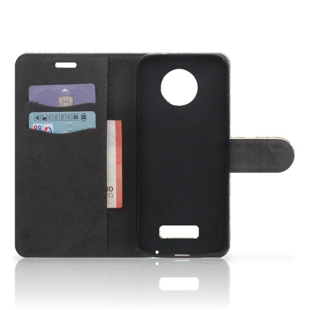 Wallet Case Motorola Moto Z Barok Goud