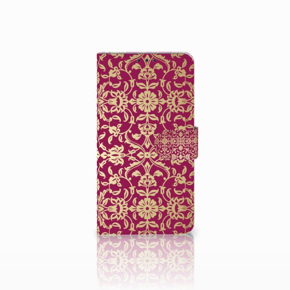 Microsoft Lumia 640 XL Boekhoesje Design Barok Pink