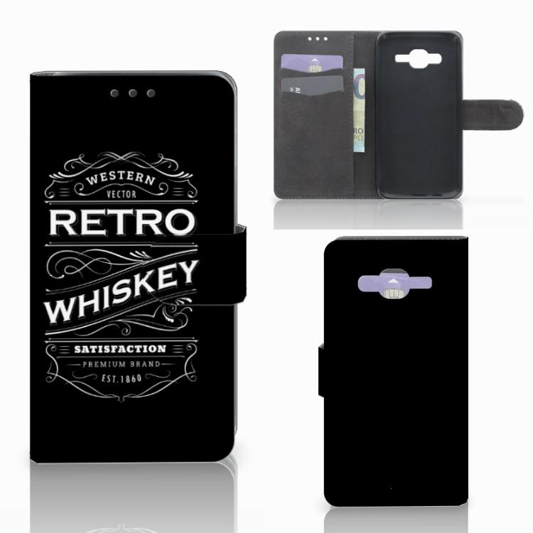 Samsung Galaxy J5 (2015) Book Cover Whiskey