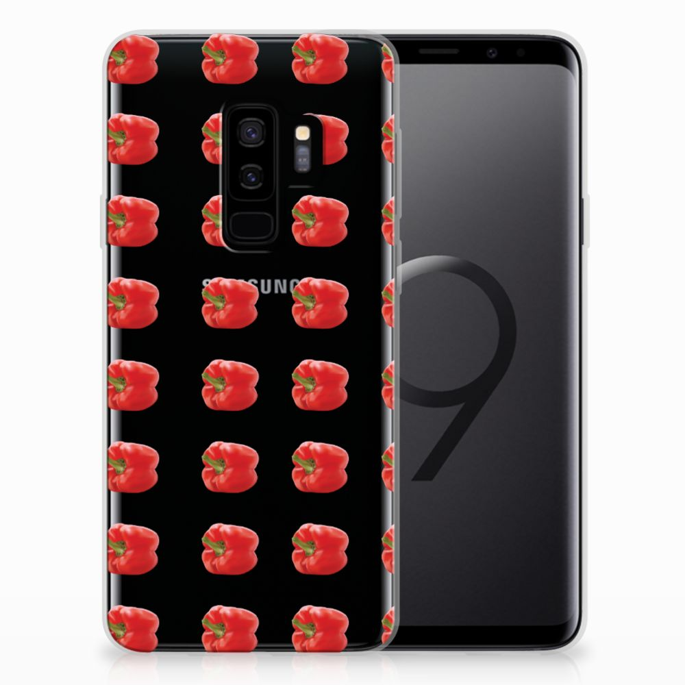 Samsung Galaxy S9 Plus Siliconen Case Paprika Red