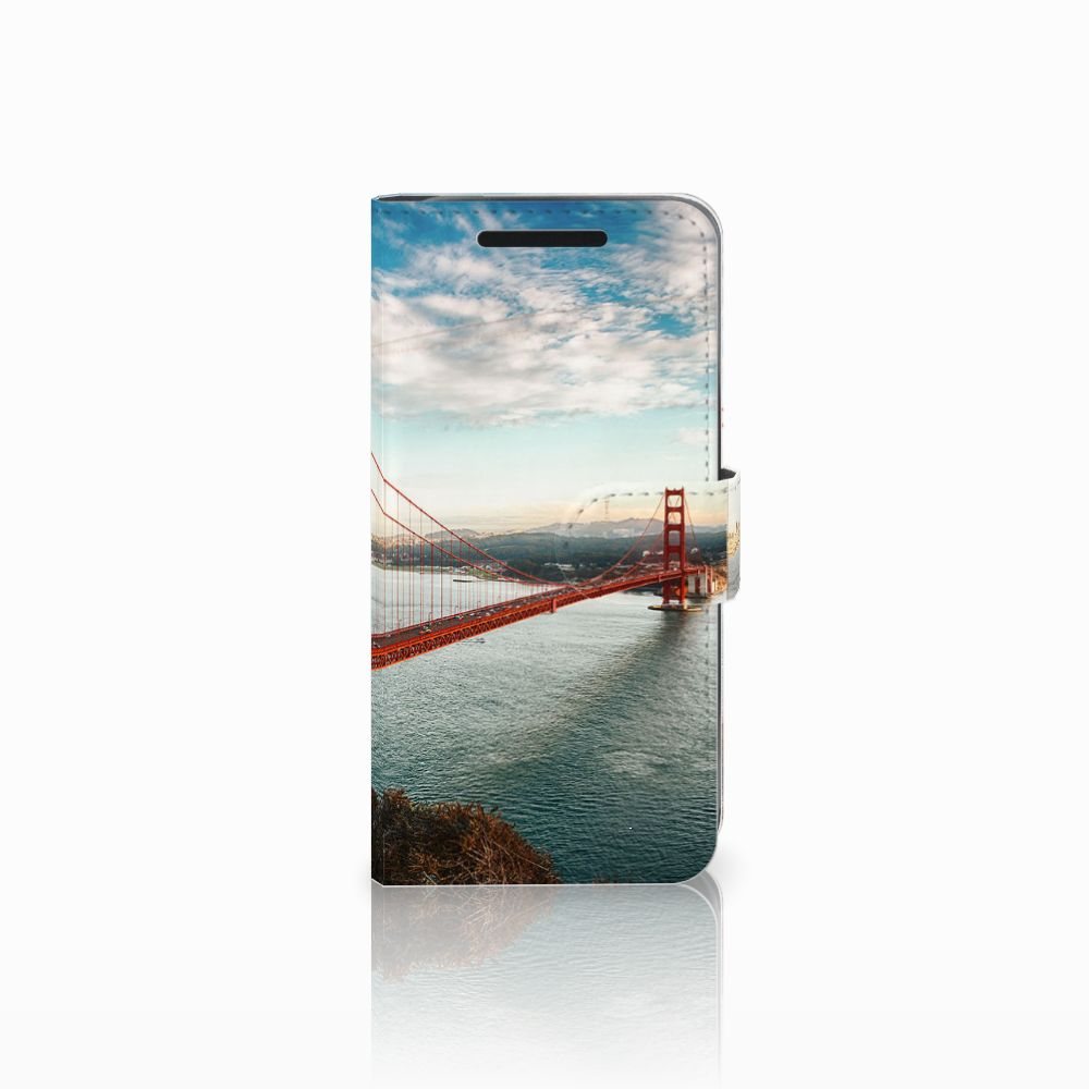 HTC One M9 Flip Cover Golden Gate Bridge