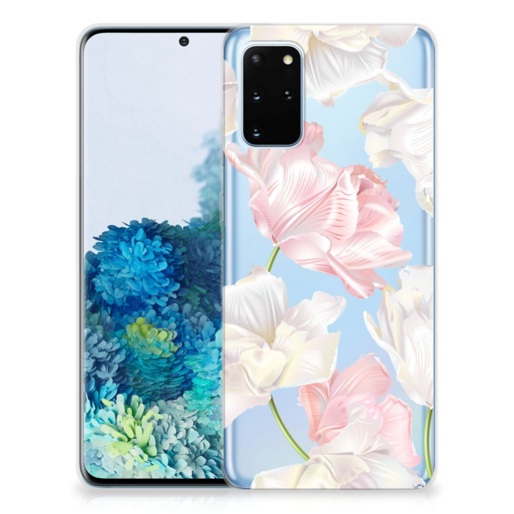 Samsung Galaxy S20 Plus TPU Case Lovely Flowers
