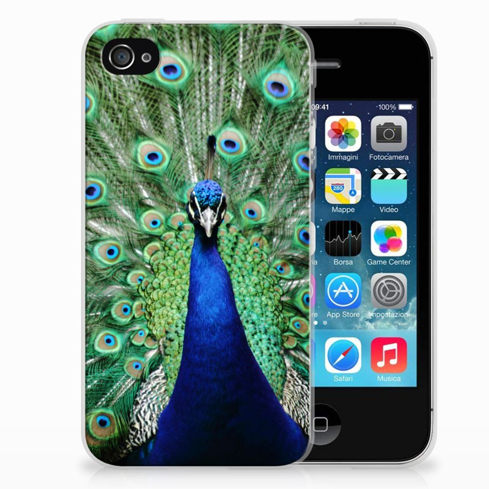 Apple iPhone 4 | 4s TPU Hoesje Pauw