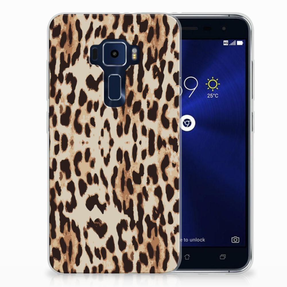ASUS Zenfone 3 Uniek TPU Hoesje Leopard