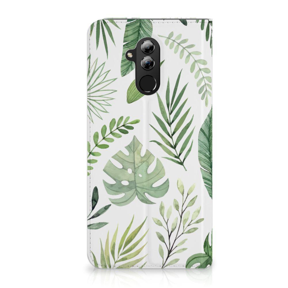 Huawei Mate 20 Lite Uniek Standcase Hoesje Leaves