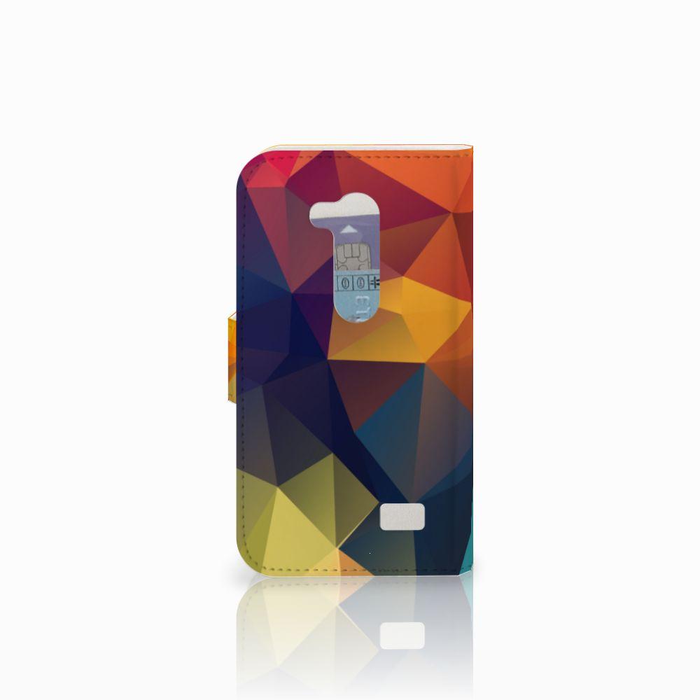 LG L Fino Bookcase Polygon Color