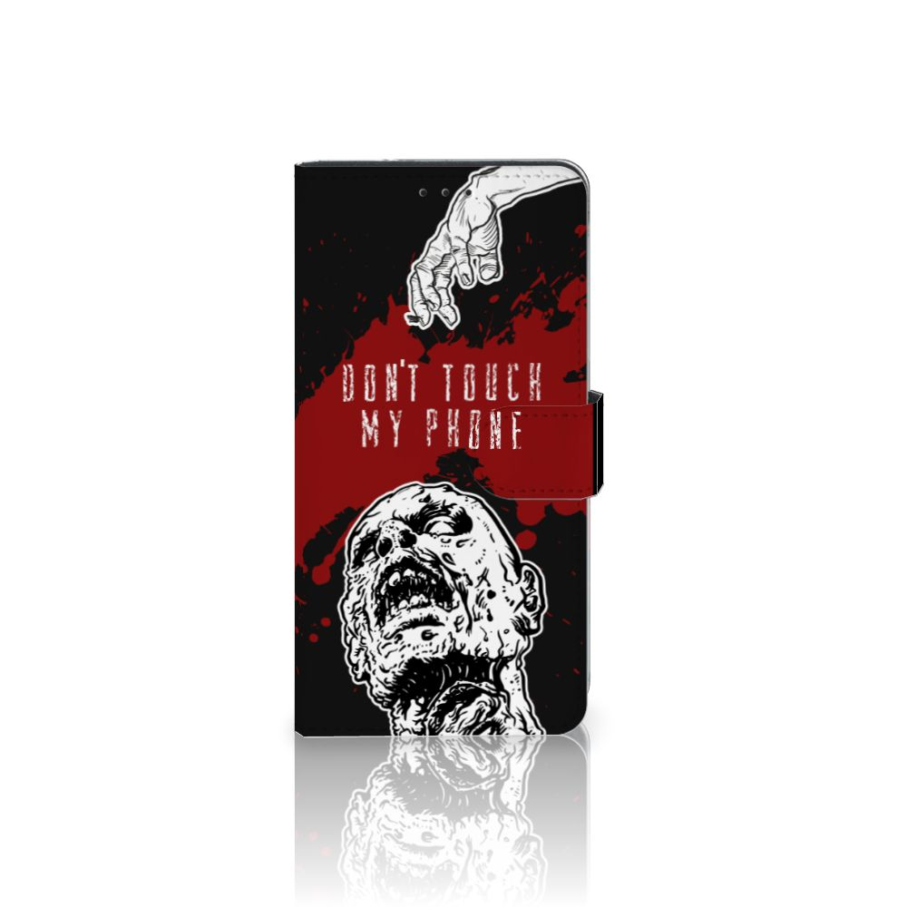 Samsung Galaxy A7 (2018) Boekhoesje Design Zombie Blood