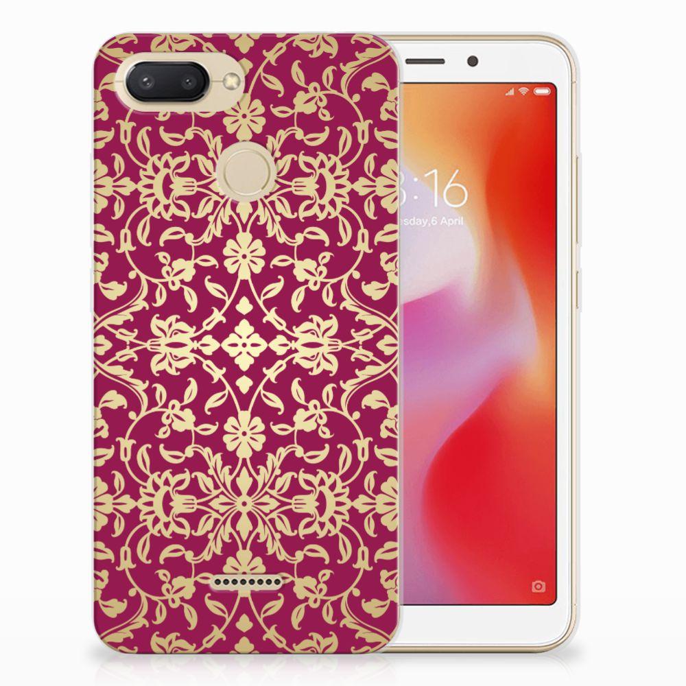 Siliconen Hoesje Xiaomi Redmi 6 Barok Pink