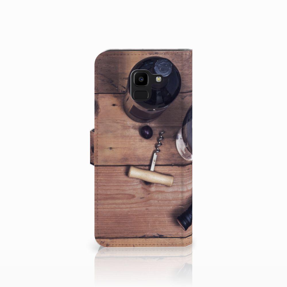 Samsung Galaxy J6 2018 Book Cover Wijn