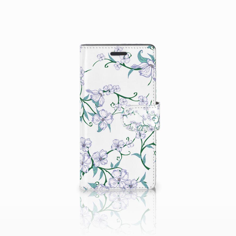 Nokia Lumia 830 Uniek Boekhoesje Blossom White