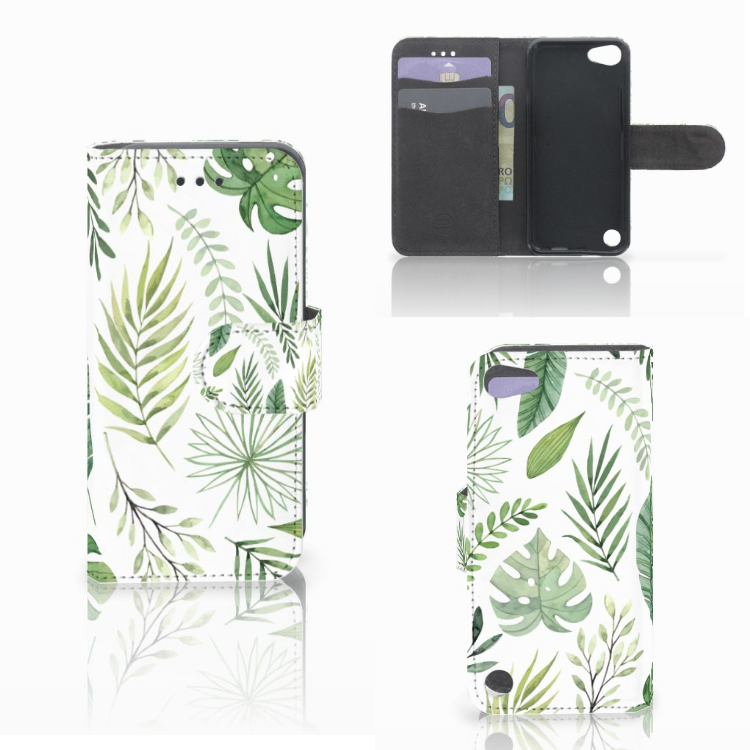 Apple iPod Touch 5 | 6 | iPod (2019) Hoesje Leaves