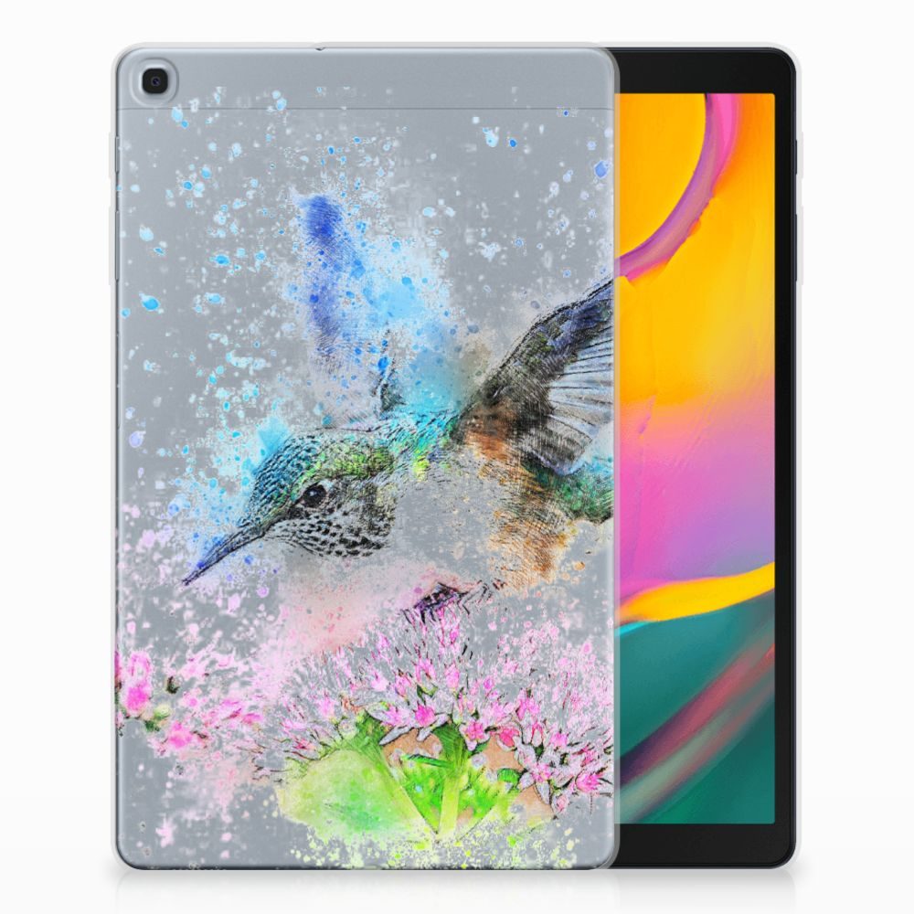 Samsung Galaxy Tab A 10.1 (2019) Tablethoesje Design Vogel