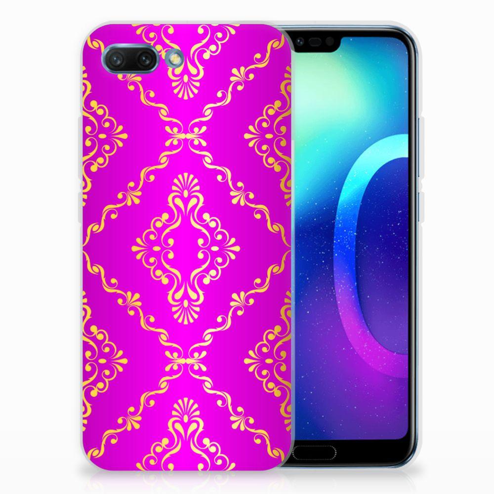 Siliconen Hoesje Huawei Honor 10 Barok Roze