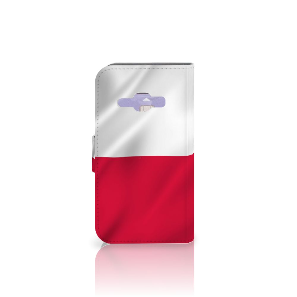 Samsung Galaxy J1 2016 Bookstyle Case Polen