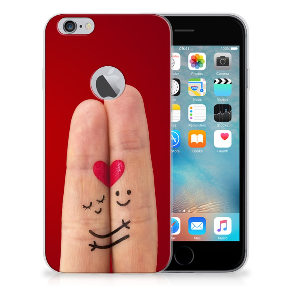 Apple iPhone 6 Plus | 6s Plus Silicone Back Cover Liefde