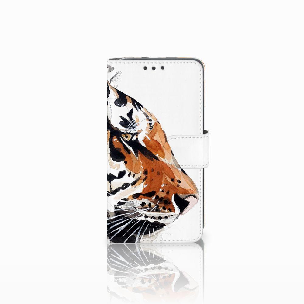 Hoesje Huawei Y5 2 | Y6 II Compact Watercolor Tiger