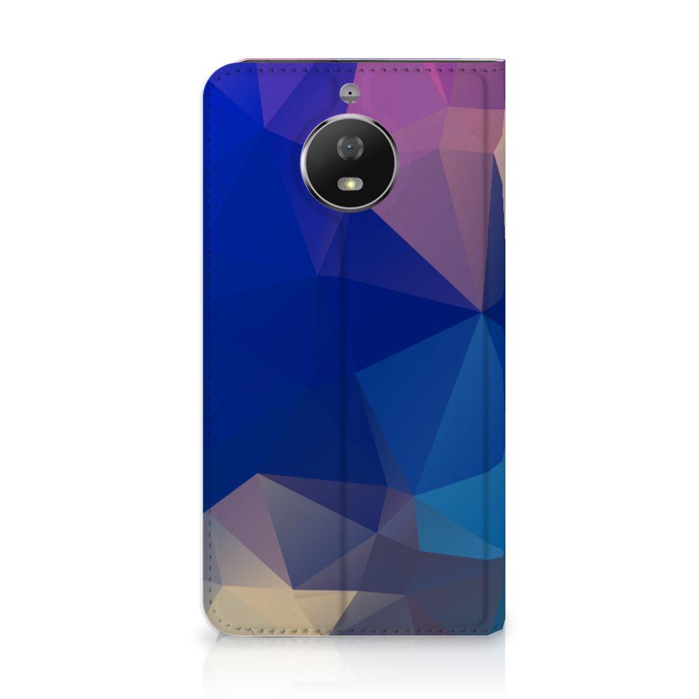 Motorola Moto G5S Stand Case Polygon Dark