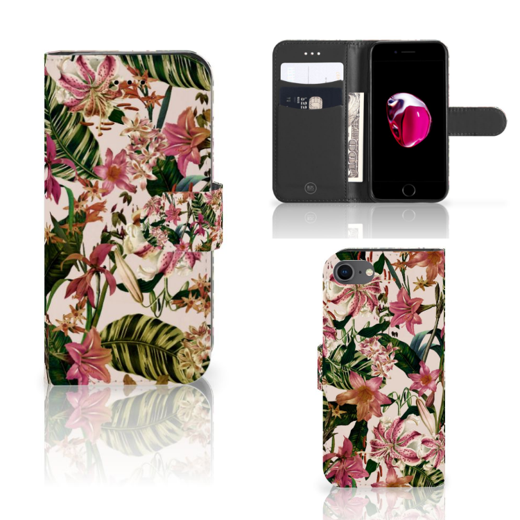 iPhone 7 | 8 | SE (2020) Hoesje Flowers
