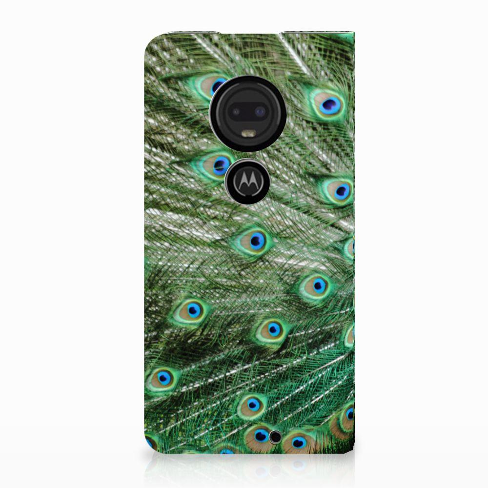 Motorola Moto G7 | G7 Plus Standcase Hoesje Design Pauw