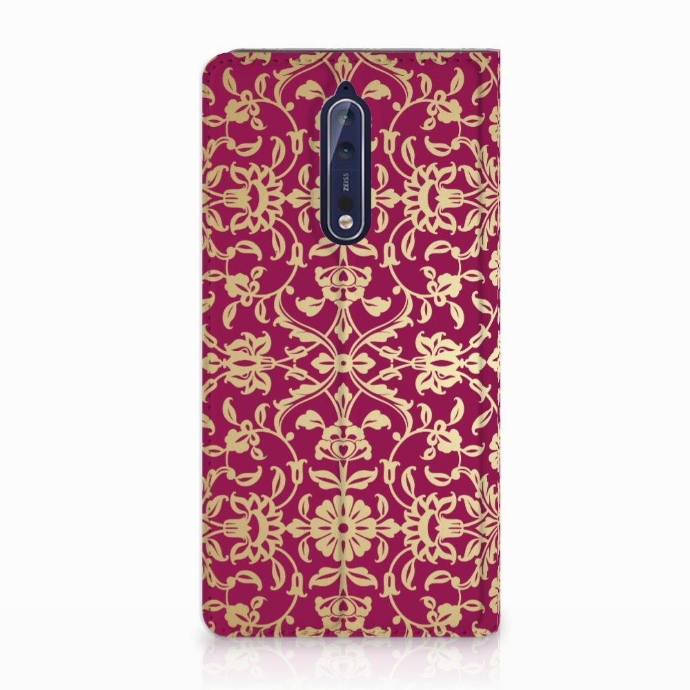 Telefoon Hoesje Nokia 8 Barok Pink