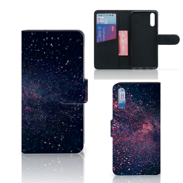 Huawei P20 Bookcase Stars