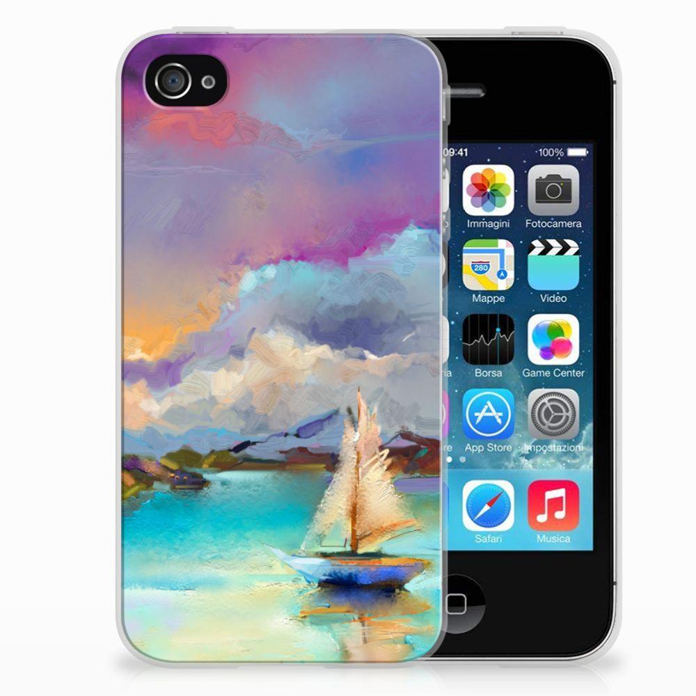 Hoesje maken Apple iPhone 4 | 4s Boat