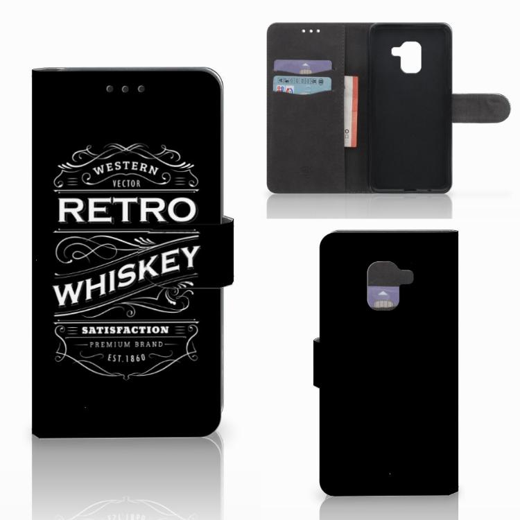 Samsung Galaxy A8 2018 Book Cover Whiskey