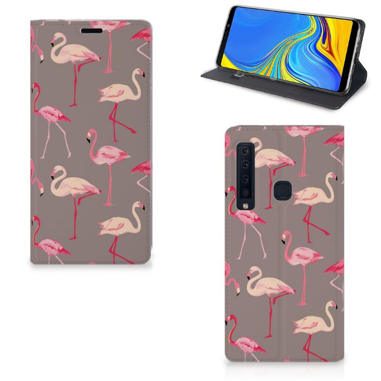 Samsung Galaxy A9 (2018) Hoesje maken Flamingo