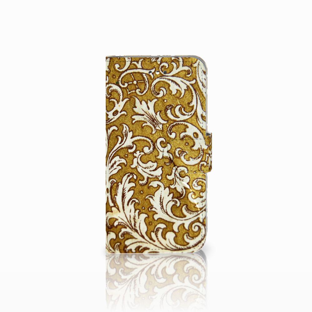 Wallet Case LG X Screen Barok Goud