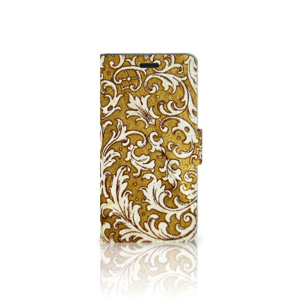 Wallet Case HTC 10 Barok Goud