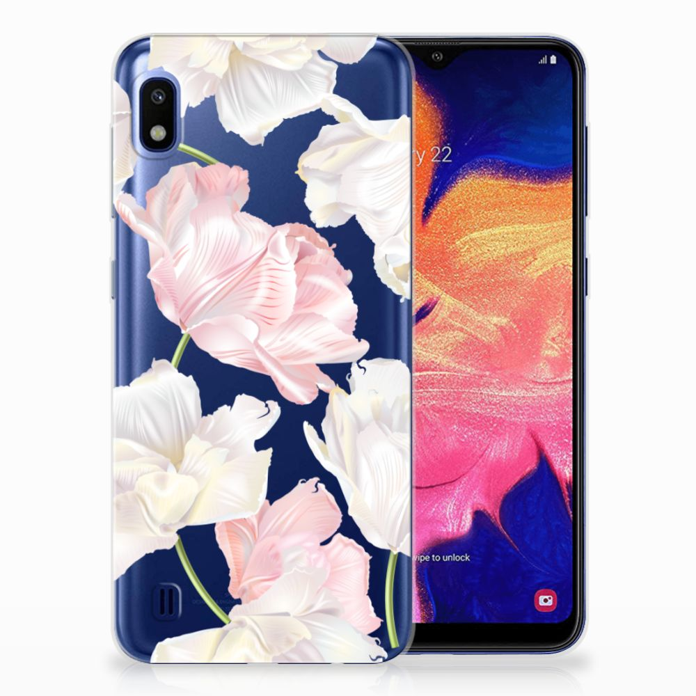 Samsung Galaxy A10 TPU Hoesje Design Lovely Flowers