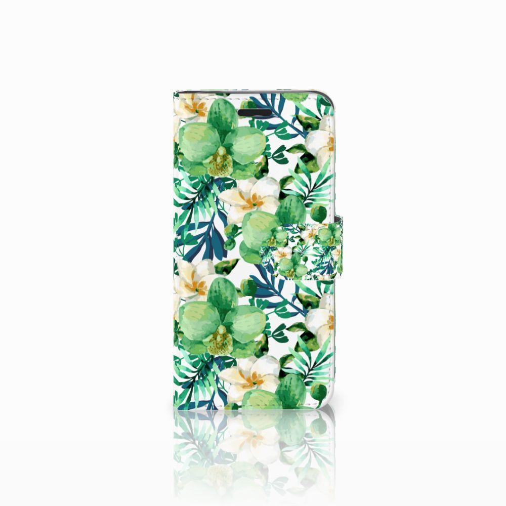 Acer Liquid Z530 | Z530s Uniek Boekhoesje Orchidee Groen
