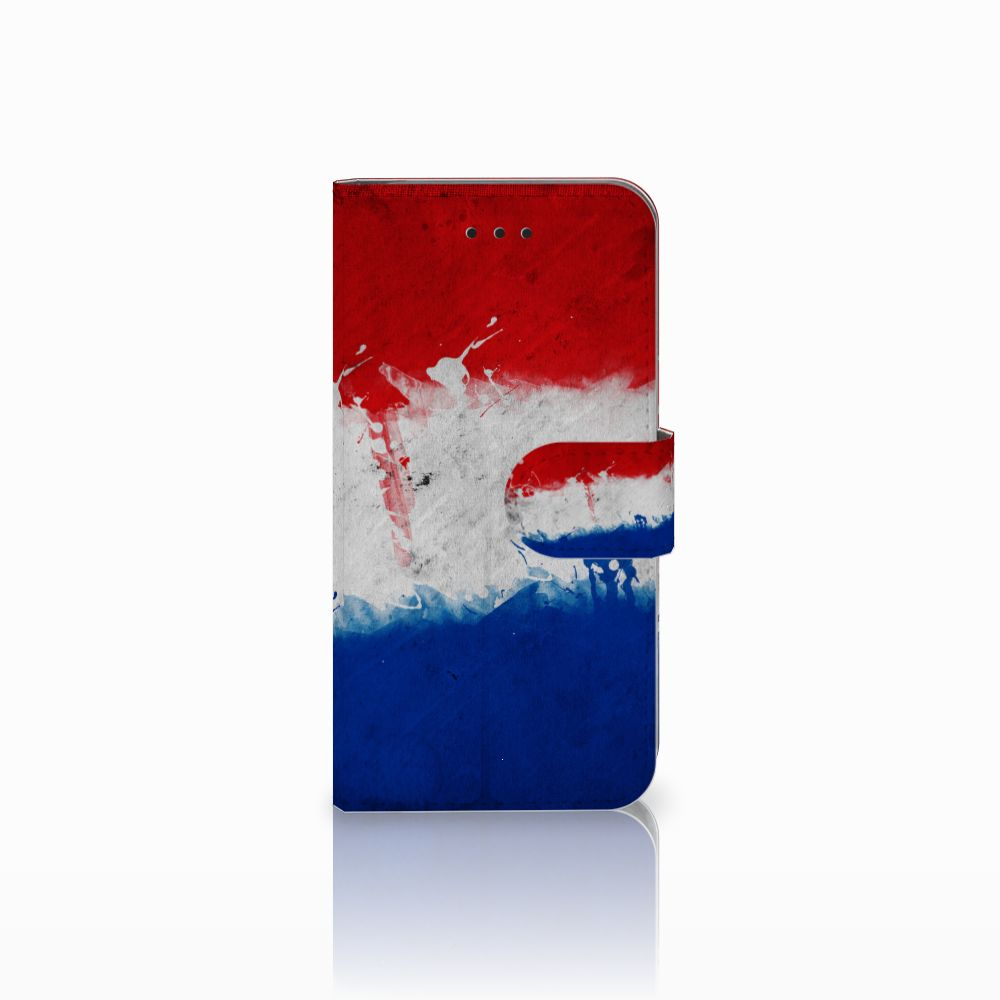 Apple iPhone X | Xs Bookstyle Case Nederlandse Vlag