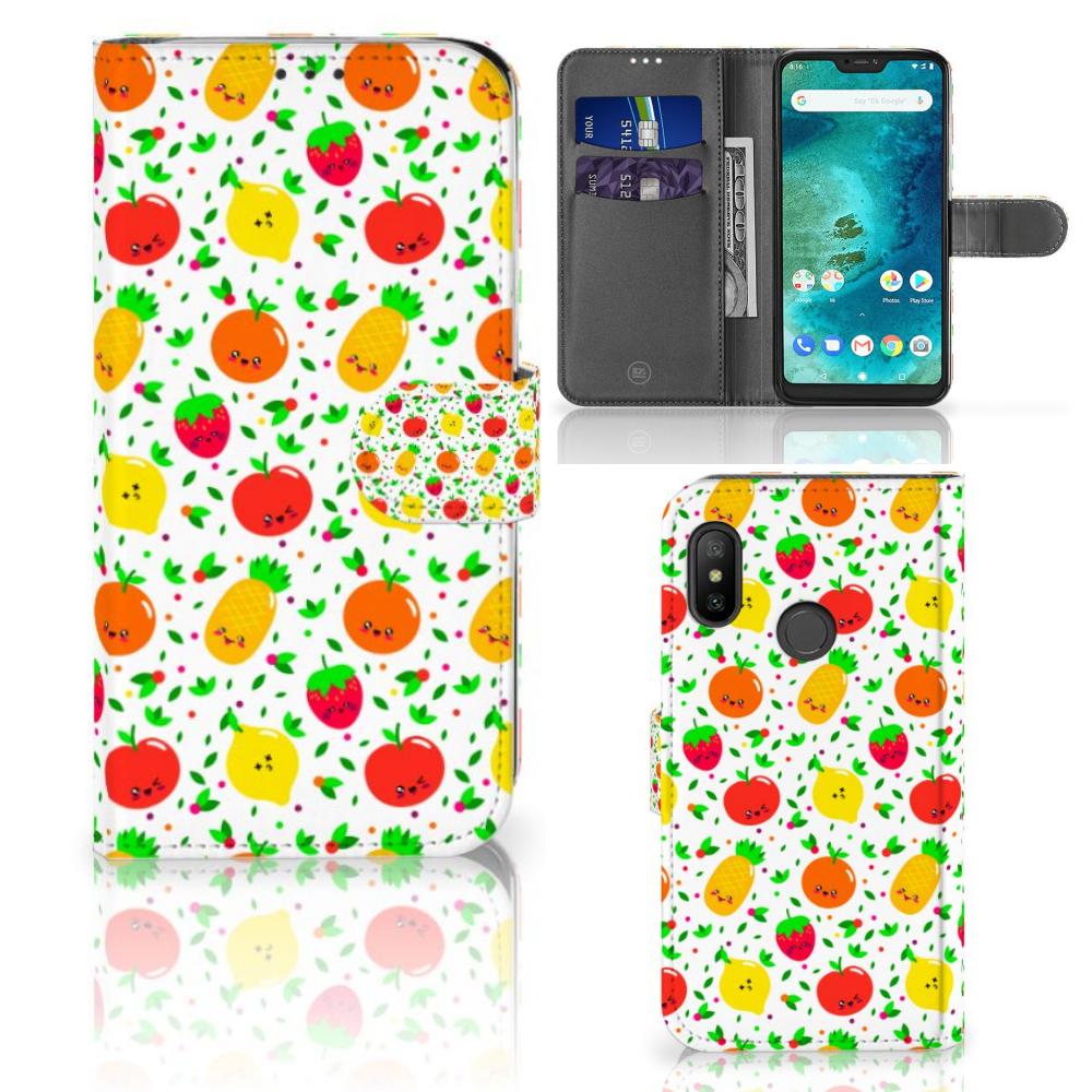 Xiaomi Mi A2 Lite Book Cover Fruits