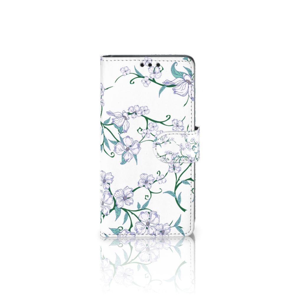 Sony Xperia Z5 | Z5 Dual Uniek Boekhoesje Blossom White