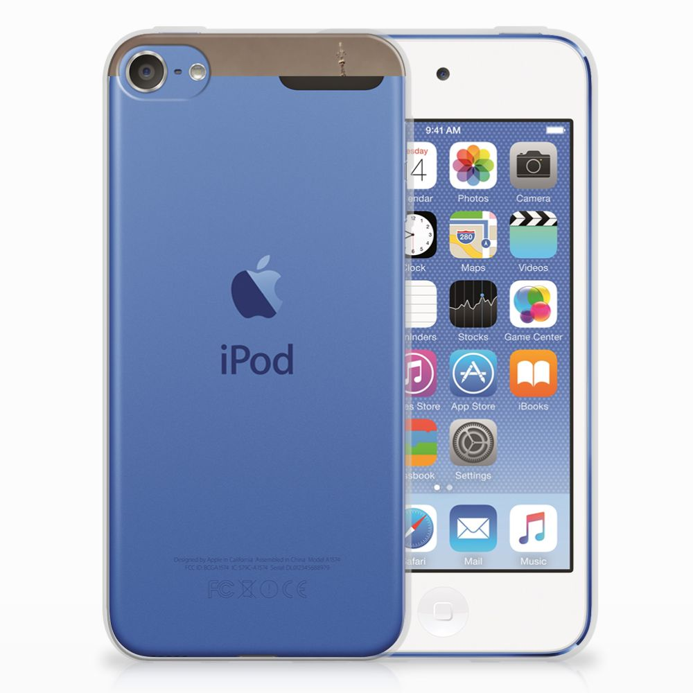 Apple iPod Touch 5 | 6 Siliconen Back Cover Londen