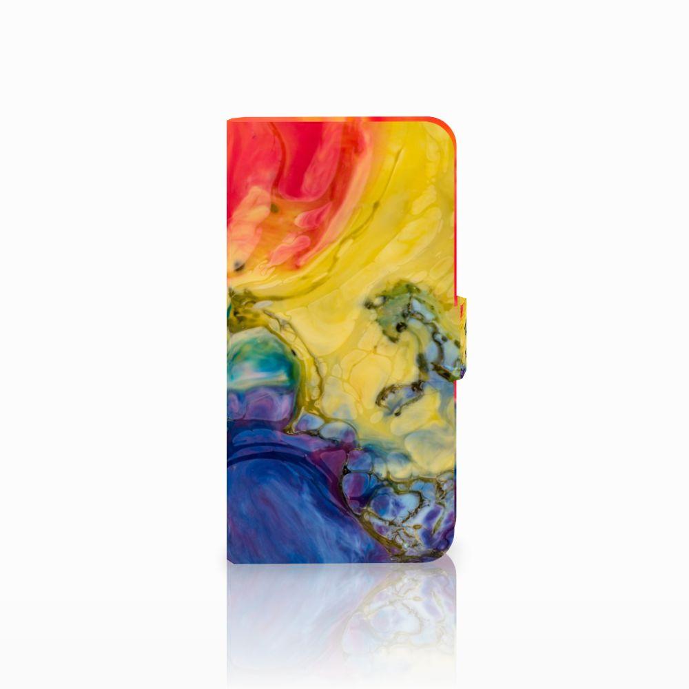 Hoesje Huawei Nova Plus Watercolor Dark