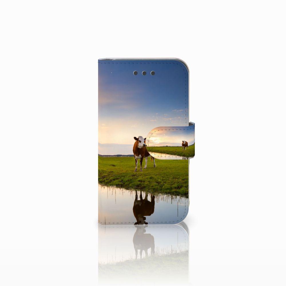 Samsung Galaxy Core 2 Boekhoesje Design Koe